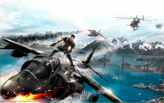 Just Cause 2 wallpapers and stock photos