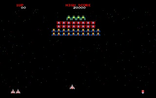 Retro: Galaga wallpapers and stock photos