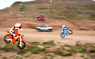 Excitebike wallpapers and stock photos