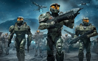 Halo Wars Spartans wallpapers and stock photos