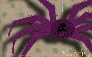 Nanny pink spider wallpapers and stock photos