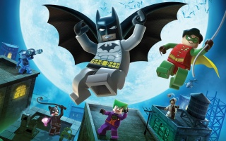 Lego Batman wallpapers and stock photos