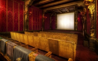 The movie theater at Hearst wallpapers and stock photos