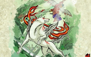 Okami wallpapers and stock photos