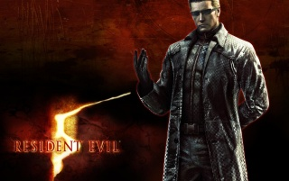 Resident Evil 5 - Wesker wallpapers and stock photos