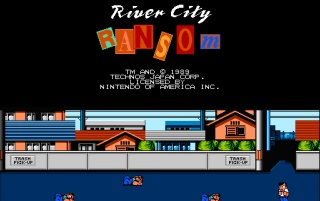 Retro: River City Ransom wallpapers and stock photos