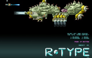 Retro: R-Type Level 3 wallpapers and stock photos