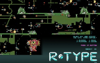 Retro: R-Type Level 4 wallpapers and stock photos
