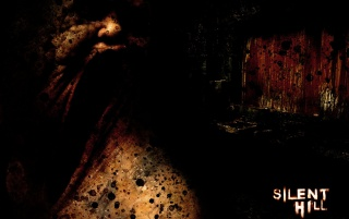 Silent Hill schwarz wallpapers and stock photos