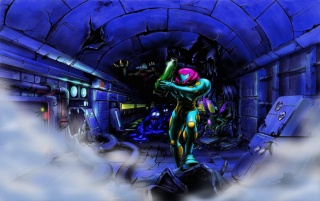 Metroid wallpapers and stock photos