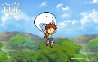 A Boy and his Blob wallpapers and stock photos