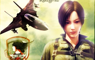 Ace Combat equipo Razgriz wallpapers and stock photos