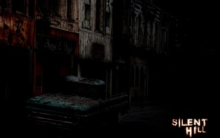Silent Hill dunkel wallpapers and stock photos