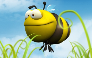 Big bee wallpapers and stock photos