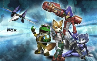 Star Fox Assault wallpapers and stock photos