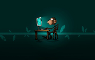 Smart monkey wallpapers and stock photos