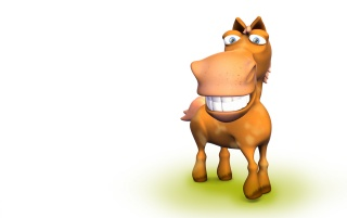 Happy horse wallpapers and stock photos