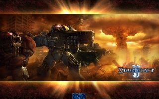 Starcraft 2 wallpapers and stock photos