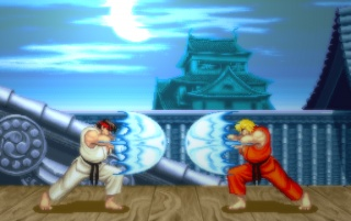 Retro: Street Fighter 2 wallpapers and stock photos