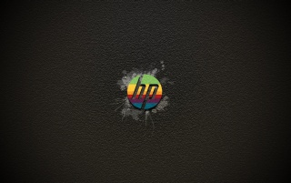 HP Color Logo wallpapers and stock photos