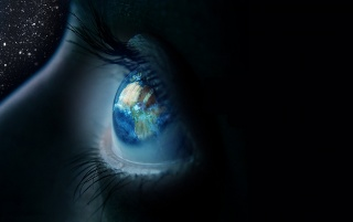 World in your Eyes wallpapers and stock photos