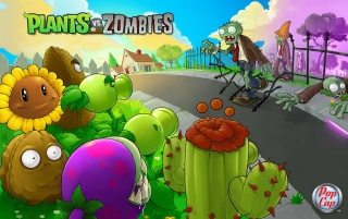 Plants vs. Zombies wallpapers and stock photos