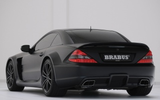 Brabus T65 RS back wallpapers and stock photos