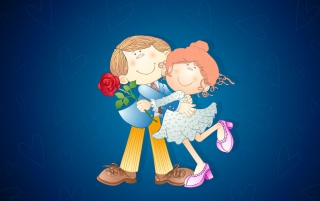Valentine couple wallpapers and stock photos