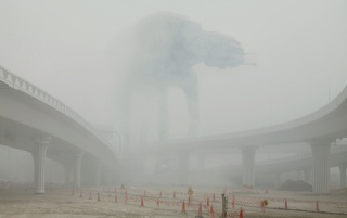 AT-AT in the Fog wallpapers and stock photos