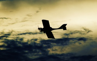 Aeroplane on Sky wallpapers and stock photos
