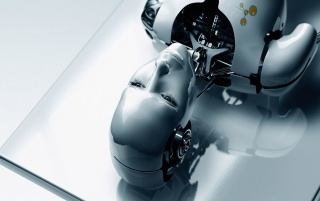 Female Robot wallpapers and stock photos
