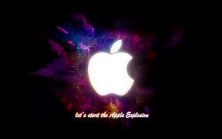 Apple Explosion wallpapers and stock photos