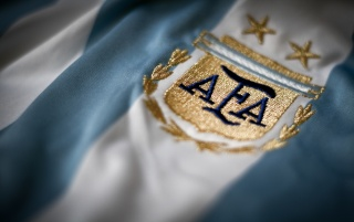 Argentina's shirt badge wallpapers and stock photos