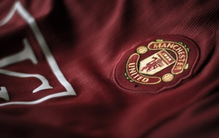 Red Devils shirt badge wallpapers and stock photos