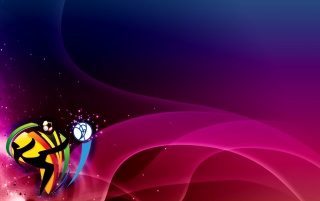 World Cup 2010 logo purple wallpapers and stock photos