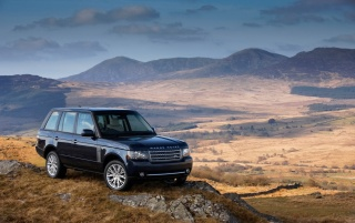 2011 Range Rover wallpapers and stock photos