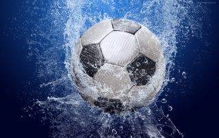 Ball in the water wallpapers and stock photos