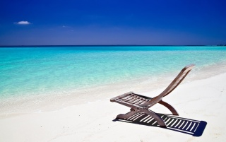 Beach chair wallpapers and stock photos