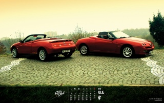 AlfaRomeo Spiders wallpapers and stock photos