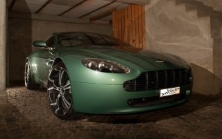 Aston Martin Vantage wallpapers and stock photos