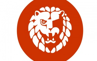 Japan red lion wallpapers and stock photos