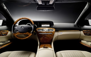 Mercedes CL-Class interior wallpapers and stock photos