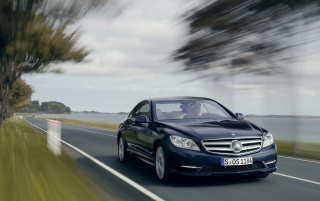 CL-Class speeding wallpapers and stock photos