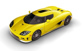 Koenigsegg Yellow wallpapers and stock photos