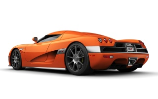 Random: Koenigsegg orange