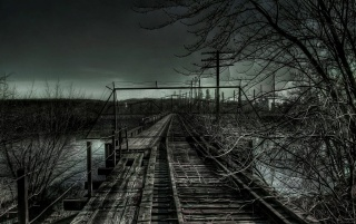 Dark Bridge wallpapers and stock photos