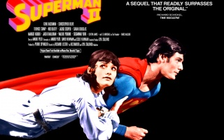 Superman II poster wallpapers and stock photos