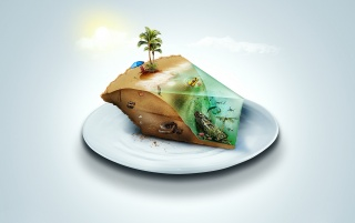 Slice of Paradise wallpapers and stock photos