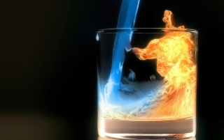 Aquafireing Water Fire Cold wallpapers and stock photos