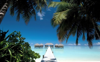 Maldives Conrad Rangali Island wallpapers and stock photos